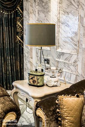 热门复式客厅简欧装饰图片