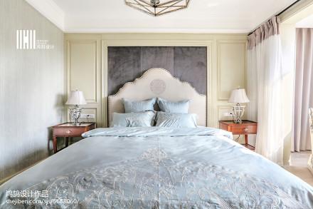 精选面积103平三居卧室实景图片欣赏卧室