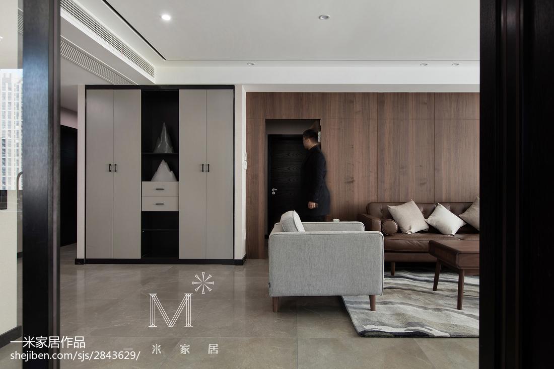 轻奢160平现代三居装饰图片现代简约设计图片赏析