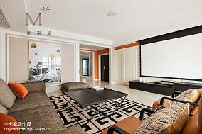 2019232平混搭三居客厅设计美图