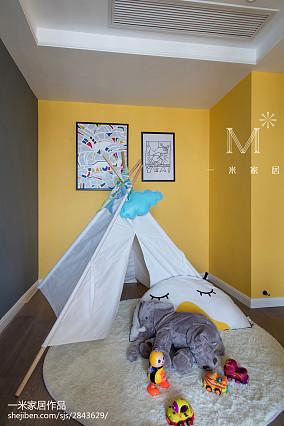典雅112平混搭三居休闲区装修装饰图