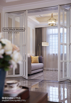 优美186平美式四居装修设计图