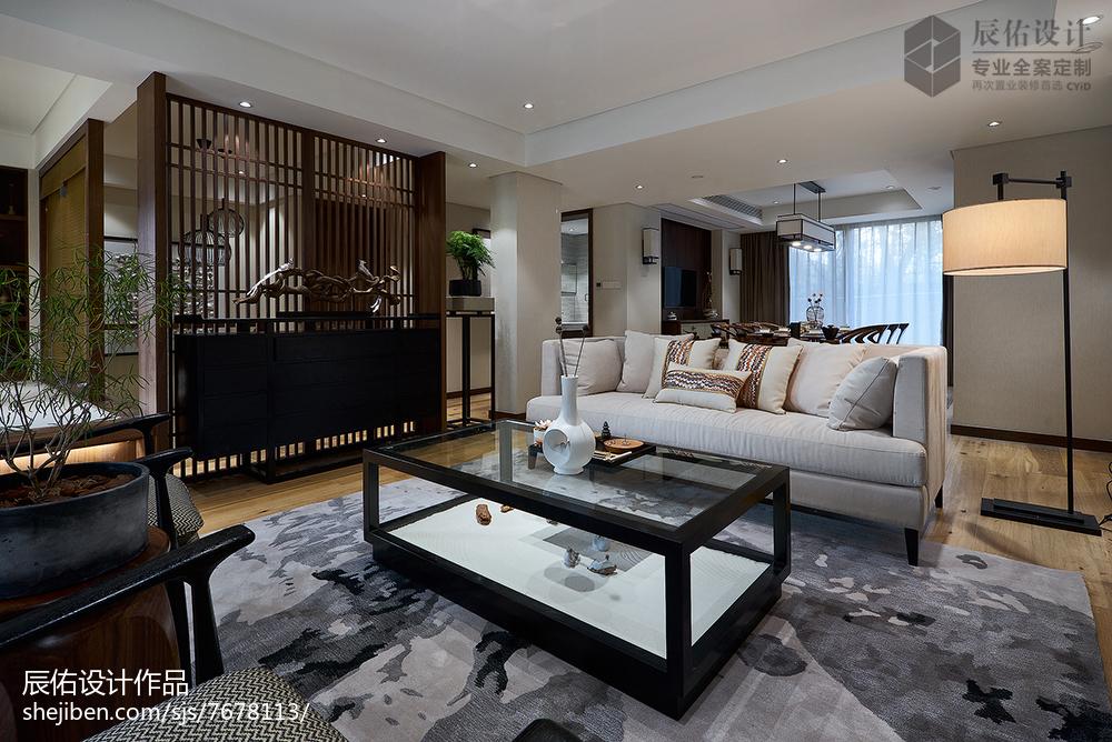 2018精选面积125平复式客厅中式装修效果图片欣赏客厅中式现代客厅设计图片赏析