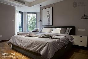 热门143平米中式复式卧室装修效果图片欣赏