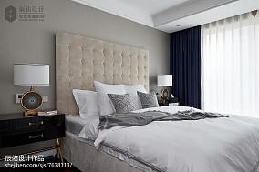 热门128平方四居卧室中式效果图片四居及以上中式现代家装装修案例效果图