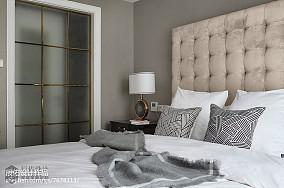 2018中式四居卧室欣赏图四居及以上中式现代家装装修案例效果图