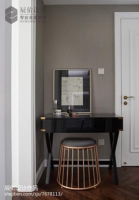 精美面积111平中式四居卧室装修欣赏图片大全四居及以上中式现代家装装修案例效果图