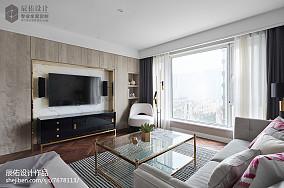 优雅136平中式四居布置图四居及以上中式现代家装装修案例效果图