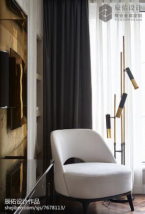 精选面积131平中式四居客厅欣赏图片四居及以上中式现代家装装修案例效果图