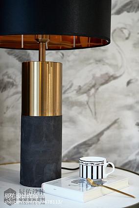 平米四居客厅中式装修图片大全四居及以上中式现代家装装修案例效果图