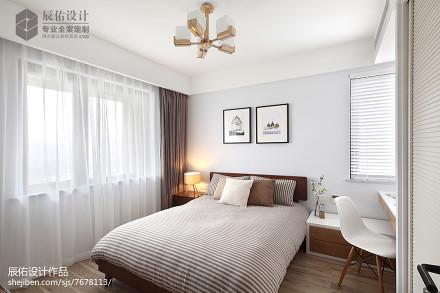 舒适北欧风格卧室设计方案卧室