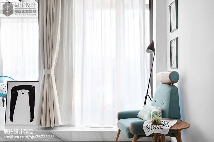 优美107平北欧三居客厅效果图欣赏