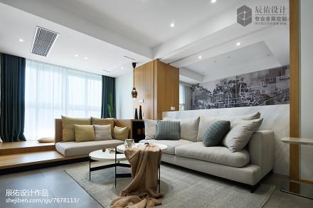 201874平米二居客厅日式装修欣赏图