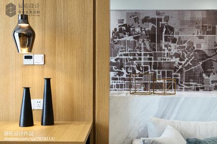 精选日式二居客厅设计效果图
