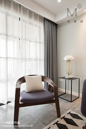 典雅65平北欧二居客厅装修图片家装装修案例效果图