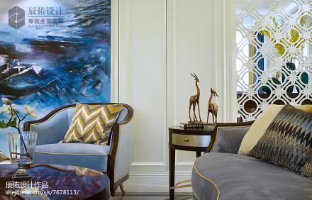 精选面积143平欧式四居客厅装修效果图片客厅