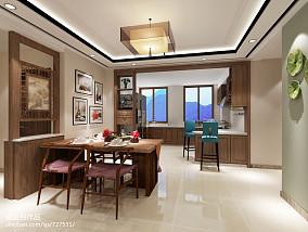 121平米四居厨房中式装修实景图片