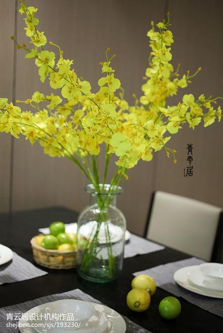 热门102平米三居餐厅简约装修效果图片欣赏厨房