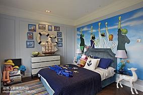 精美客厅背景墙田园风格