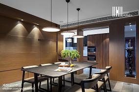 精美面积112平现代四居餐厅装饰图片