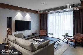 精选137平米四居客厅现代装修设计效果图片大全