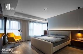 2018面积129平现代四居卧室欣赏图