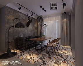 热门面积127平四居餐厅装修效果图