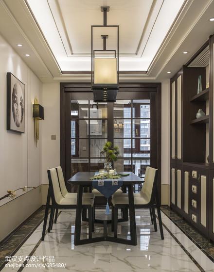 精致中式餐厅设计厨房