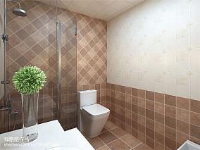 北欧风格70平米两室一厅装修效果图