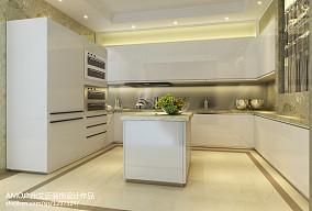 简欧别墅厨房装修效果图片
