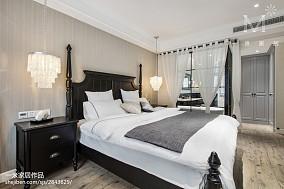 华丽113平美式三居卧室装修美图三居美式经典家装装修案例效果图