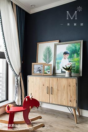 温馨73平美式三居儿童房装修效果图家装装修案例效果图