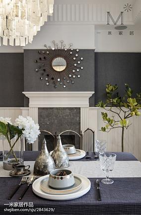 平美式三居客厅实景图片三居美式经典家装装修案例效果图