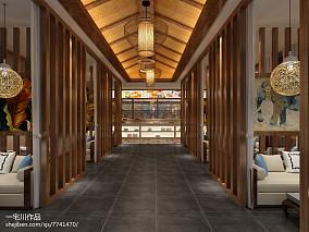 日式自然原木风整体书房设计