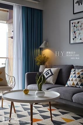 热门三居客厅北欧装饰图片
