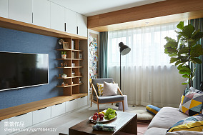精选面积85平公寓北欧装修图