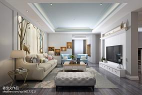 热门三居客厅宜家设计效果图