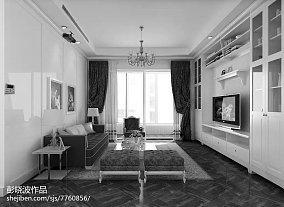 美式风格客厅装修