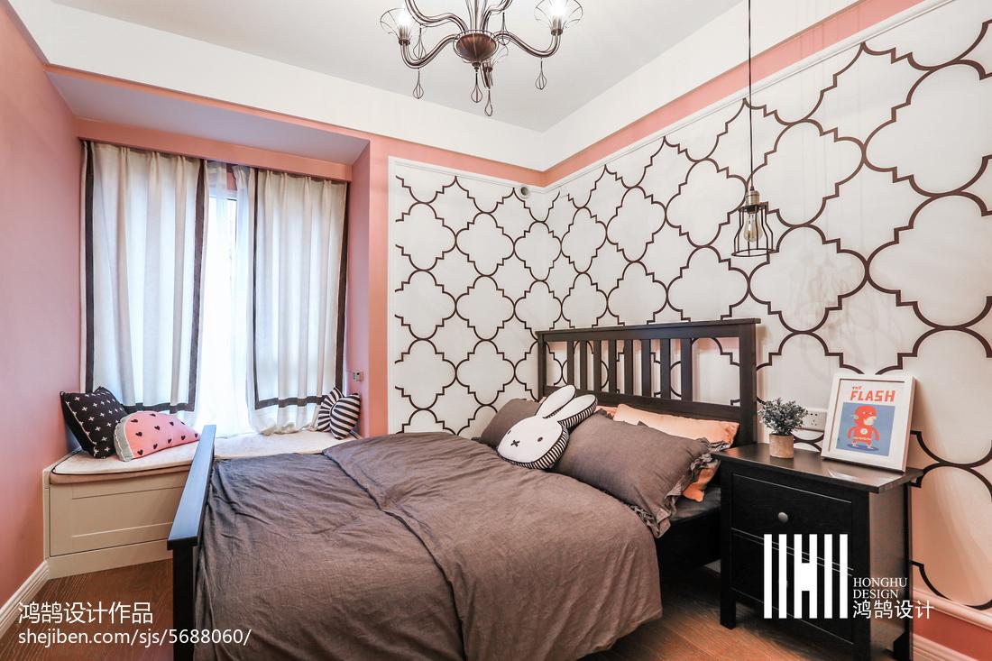 2019年三居儿童房美式装修图片卧室美式经典卧室设计图片赏析