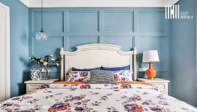 精选三居卧室美式效果图片大全三居美式经典家装装修案例效果图