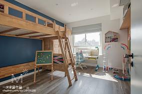 热门北欧三居儿童房装修欣赏图片大全三居北欧极简家装装修案例效果图