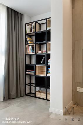 2018精选面积108平北欧三居客厅效果图三居北欧极简家装装修案例效果图