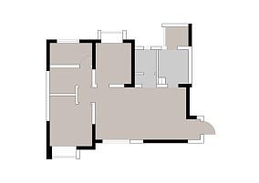 【清羽设计】三居美式经典家装装修案例效果图