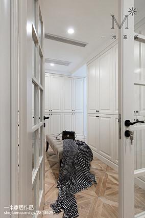 优雅94平美式三居实景图片三居美式经典家装装修案例效果图