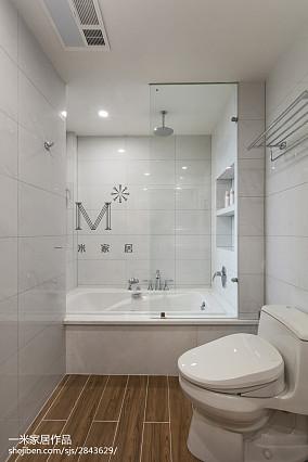 典雅117平美式三居案例图三居美式经典家装装修案例效果图
