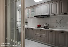 华丽98平美式三居装饰美图三居美式经典家装装修案例效果图