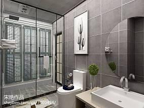 混搭北欧风格浴室设计