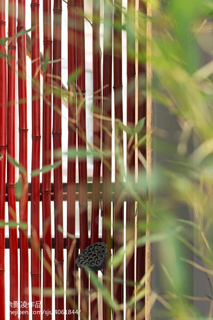精美131平米四居阳台中式装修欣赏图片大全阳台中式现代阳台设计图片赏析