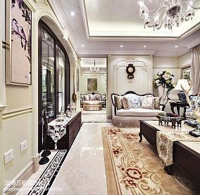 美式实木卧室抽屉柜图例