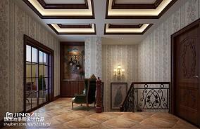 精美139平米美式别墅休闲区装修欣赏图片大全